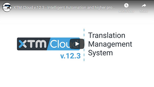 XTM Cloud 12.3 - video