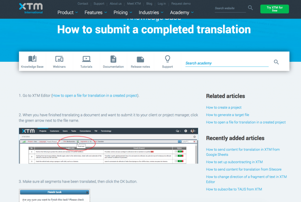 cloud translation management solution
