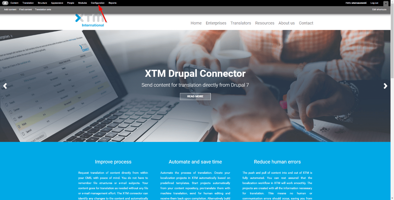 translator in Drupal