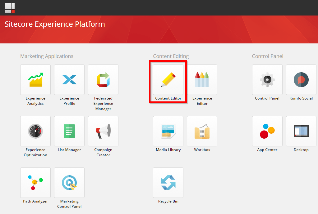 Send content from Sitecore