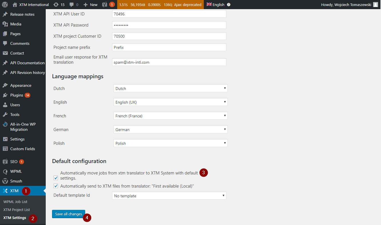 Automatically move jobs from xtm translator
