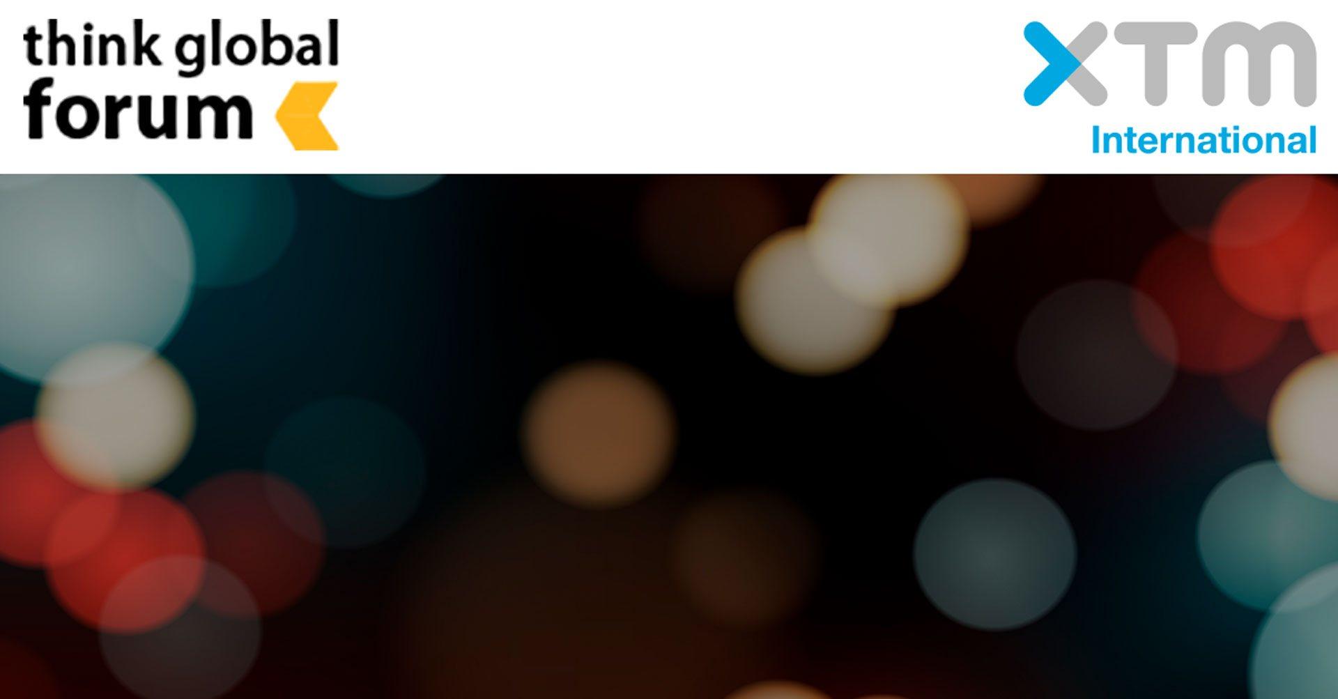 XTM International win Think Global Forum Award