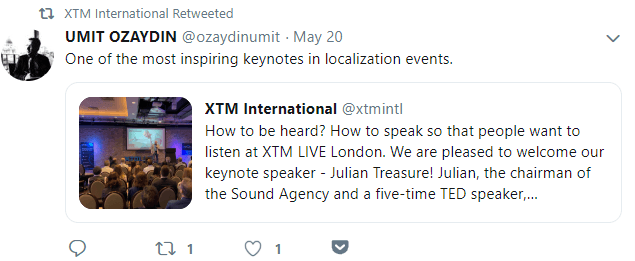 XTM LIVE keynote speech