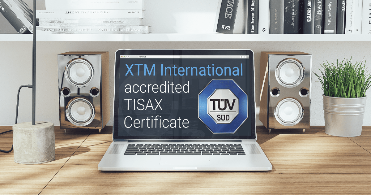 XTM International is now TISAX certified