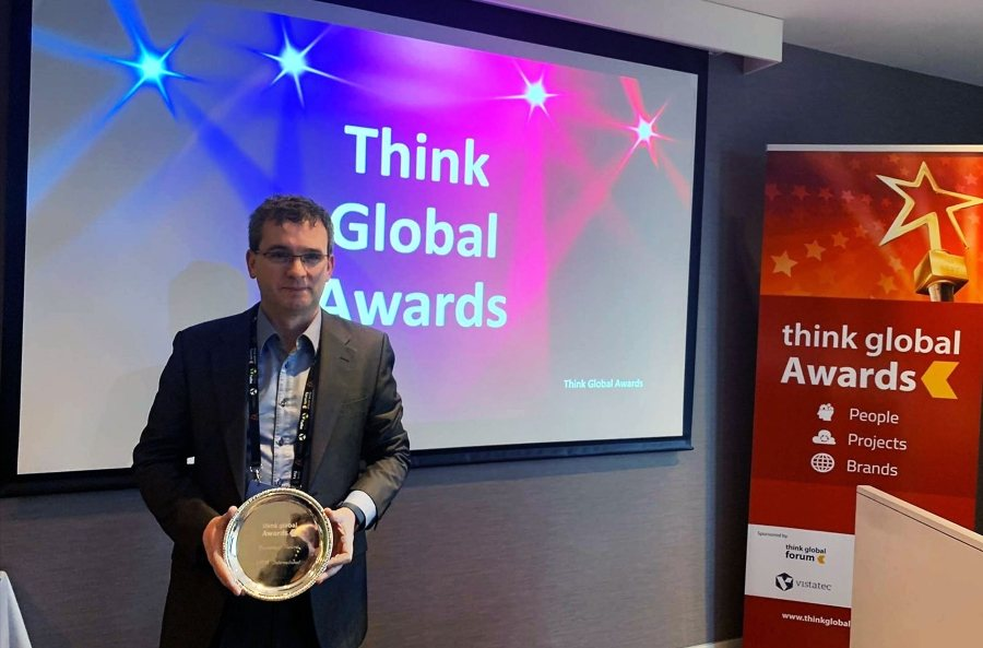 XTM International win Think Global Award