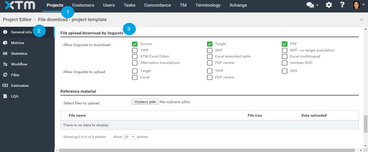 How to configure file download settings