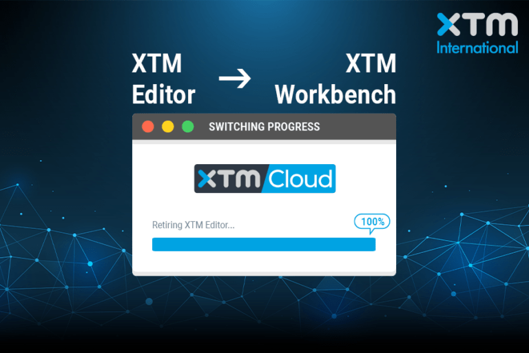 Switch to XTM Workbench