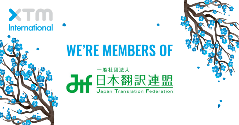XTM International now a member of the Japan Translation Federation