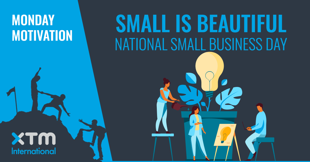 National Small Business Day XTM International